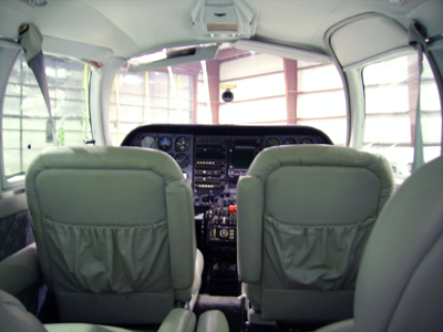 twin cessna interior N2643Y